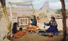 ind200440 - Navajo Indian Postcard, Post Card