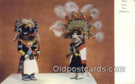 ind200444 - Kachina Dolls Indian Postcard, Post Card