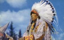 North American Indian Chief Yellowface