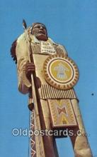 ind200482 - Chief Passamaquoddy Indian Postcard, Post Card
