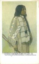 ind200491 - Annie Red Shirt Indian Postcard, Post Card
