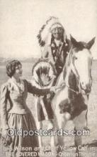 Lois Wilson & Chief Yellow Calf