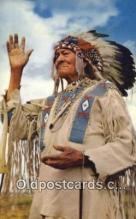 ind200503 - Chief Bull Indian Postcard, Post Card