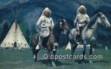 ind200525 - Indian Chiefs Indian Postcard, Post Card