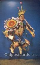 ind200532 - Indian War Dancer Indian Postcard, Post Card