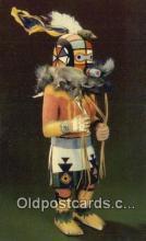 ind200545 - Hopi Kachina Doll Indian Postcard, Post Card