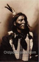ind200557 - Reproduction - Warrior Cherokee Indian By Unknown Photographer c1900 Postcard Post Cards
