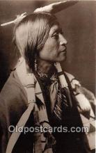 ind200558 - Reproduction - Young Jicarilla Apache Indian By Edward Curtis c1900 Postcard Post Cards