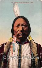 ind200561 - Chief Buckskin Charley UTE  Postcard Post Cards