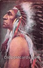 ind200565 - Chief Black Bird  Postcard Post Cards