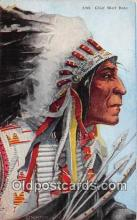 ind200573 - Chief Wolf Robe  Postcard Post Cards