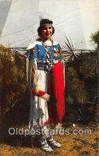 ind200578 - Indian Maiden, Pawnee  Postcard Post Cards
