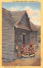 ind200583 - Indian Basket Makers Cherokee, NC, USA Postcard Post Cards