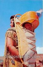 ind200587 - Indian Mother & Child Santa Fe, New Mexico, USA Postcard Post Cards