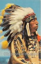 ind200596 - Black Elk, Sioux Warrior Photo by Free Lance Photographers Guild, Inc Postcard Post Cards