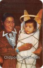 ind200619 - Navajo Mother & Child  Postcard Post Cards