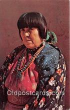 ind200620 - American Indian Woman Photo by Free Lance Photographers Guild, Inc Postcard Post Cards