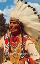 ind200644 - Indian Chief  Postcard Post Cards