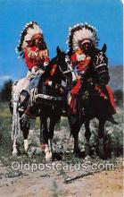 ind200646 - First Americans in Full Dress  Postcard Post Cards