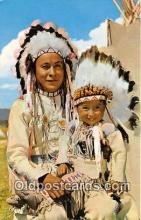ind200654 - Chief & Papoose Color by Mike Roberts, Berkeley, CA, USA Postcard Post Cards