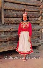 ind200657 - Choctaw Indian Princess Philadelphia, Miss, USA Postcard Post Cards