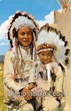 ind200661 - Chief & Papoose  Postcard Post Cards