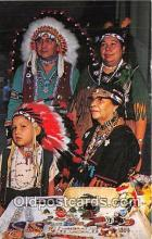 ind200676 - Indian Family Seneca, Allegany Indian Reservation Postcard Post Cards