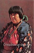 ind200678 - American Indian Woman Photo by Free Lance Photographers Guild, Inc Postcard Post Cards