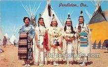ind200691 - Indian Maidens Pendleton, Oregon, USA Postcard Post Cards