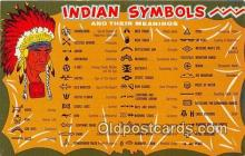 ind200693 - Indian Symbols  Postcard Post Cards