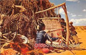 ind200697 - Navajo Weaver  Postcard Post Cards