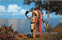 ind200699 - Hawks Wing, Chippewa Chief  Postcard Post Cards