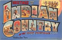 ind200716 - Indian Country Postcard Post Cards