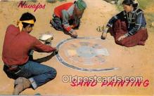 ind200735 - Navajos Sand Painting  Postcard Post Cards