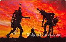 ind200755 - Indian Tribal Dance Oklahoma, USA Postcard Post Cards