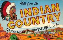 ind200766 - Indian Country Great Southwestern, USA Postcard Post Cards