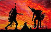ind200767 - Indian Tribal Dance Oklahoma, USA Postcard Post Cards