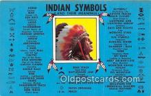 ind200781 - Indian Symbols  Postcard Post Cards