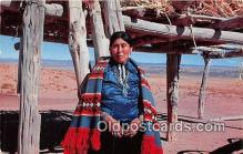 ind200784 - Navajo Woman Color by Dwight Warren Postcard Post Cards