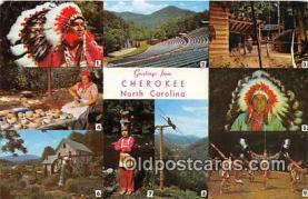 ind200793 - Cherokee, NC, USA Postcard Post Cards
