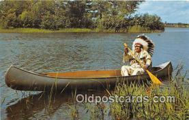 Indian Chief Dressed in Full Regalia