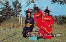 ind200828 - Koasati Indian Maidens Elton, Louisiana, USA Postcard Post Cards