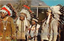 ind200833 - Indians of the Confederated Tribes Warm Springs, Oregon, USA Postcard Post Cards