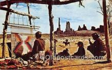 ind200838 - Navajo Indians Arizona, Utah, USA Postcard Post Cards