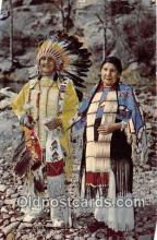 ind300006 - Dakota or Sioux Indians South Dakota, USA Postcard Post Cards