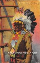 ind300012 - Navajo Indian Chief  Postcard Post Cards