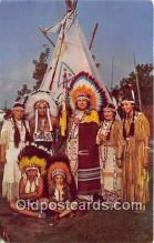 ind300018 - Caughnawaga Indian Reserve Canada Postcard Post Cards