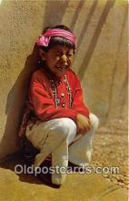 ind300031 - Five Year Old Hopi Boy Color Courtesy Santa Fe Railway Postcard Post Cards