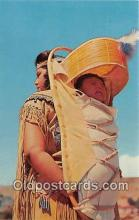 ind300032 - Indian Woman with Baby Santa Fe, New Mexico, USA Postcard Post Cards