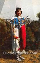 ind300034 - Indian Maiden Pawnee Postcard Post Cards